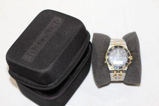 Breitling Navitimer Quarz 2600 Originalarmband Mit Zweiter Uhr Bild