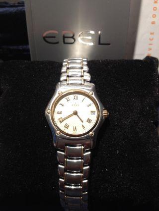 Ebel 1911 Armbanduhr Für Damen Bild