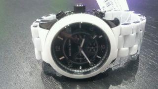 Michael Kors Herren - Uhr Mk8178 Chronograph - Silikon/edelstahl Ovp Bild
