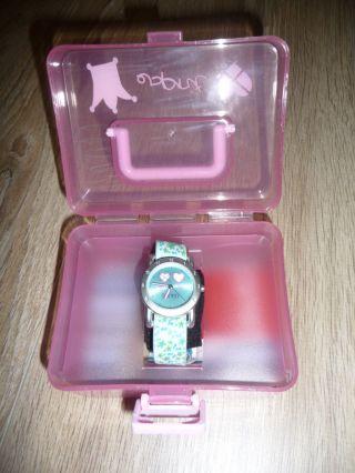 Top Esprit Kinder Armbanduhr Blau Petrol Bild