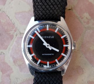Seltene Alte Kienzle Armbanduhr,  Handaufzug,  Top -,  Hau,  Uhr,  60er Jahre Bild