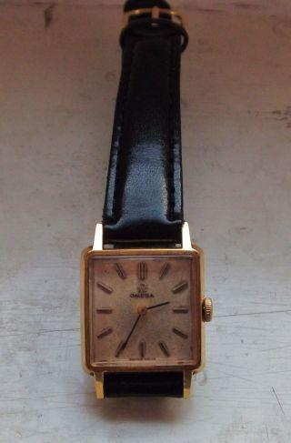 Elegante Omega Uhr Vergoldet (de Ville?) Bild