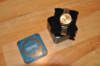 Esprit Uhr Gold,  Chronograph Bild