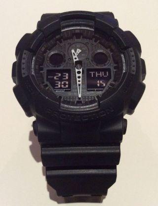 Casio G - Shock Ga - 100 - 1a1er - Neuwertig - Bild