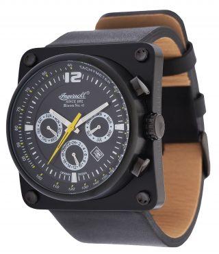 Ingersoll Herren Armbanduhr Bison No.  43 Limited Edition Schwarz In4108bbk Bild