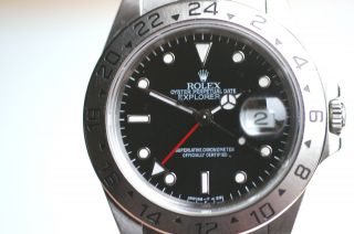Rolex Explorer Ii Referenz 16570 Automatic Armbanduhr Box,  Papiere 1996 Top Bild