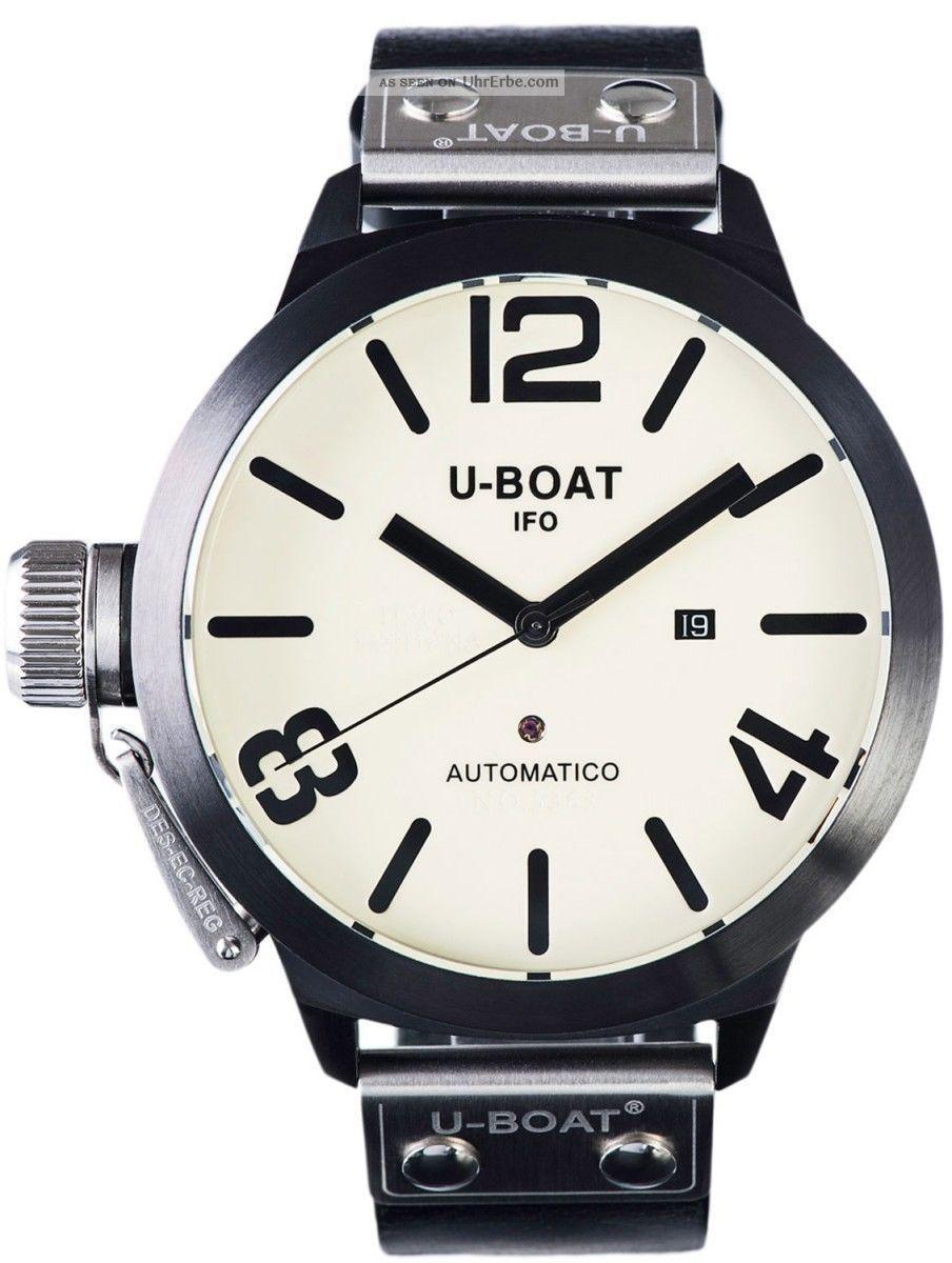 U - Boat Classico Ab 5169 Automatik Herrenuhr 53mm Armbanduhren Bild