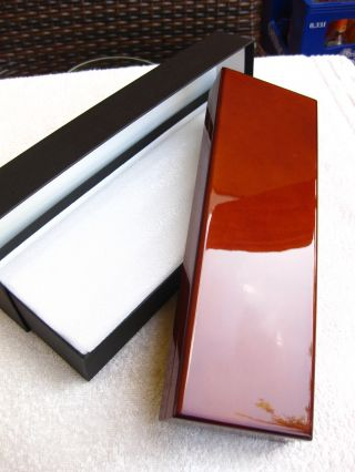 Uhrenschachtel - Uhrenbox - Echt - Holz Xxl Mit Umkarton In Braun Edel & Hochwertig Bild