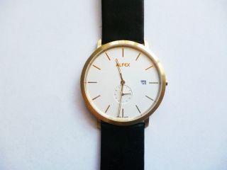 Alfex Uhr Herrenuhr 5585/035 Bild