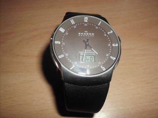 Skagen 732xltlm - G Titan Funkuhr Herren - Armbanduhr,  Titanium Radio Controlled Bild