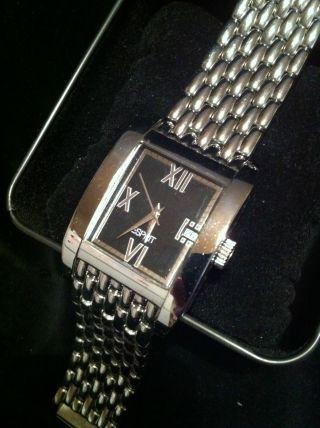 Esprit.  Unisex Armbanduhr.  Klassisch - Modern.  Rechteckiges,  Zeiloses Design. Bild