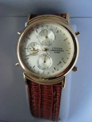 Citizen Chronograph Mit 2 Alarmen Bild