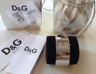 Tolle Uhr D&g Is Forever Silber Dolce&gabbana Mit Ovp Und Zertifikat Top Wie Bild