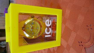 Armbanduhr - Ice Watch Si.  Yw.  U.  S.  09 Sili Yellow Uni - Nagelneu Und Ungetragen Bild