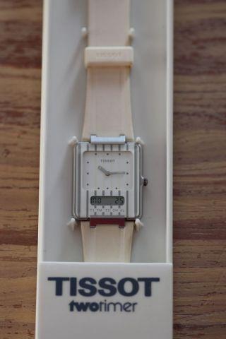 Tissot Two Timer Quarzuhr Unisex Bild