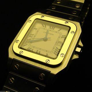 Cartier Santos GalbÉe Automatik - Stahl/gold - Ref.  1172961 - Topzustand Bild