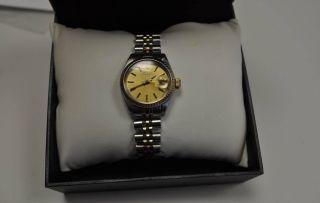 Rolex Lady Datejust Ref.  6917 - Stahl / 750 Gelbgold Bild