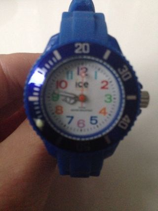 Ice Watch Kinderuhr Kinder Uhr Mini Blue Blau Bild