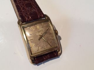Junghans Cal 84/s 17 Jewels Herrenuhr 20 Micron Vintage Bild