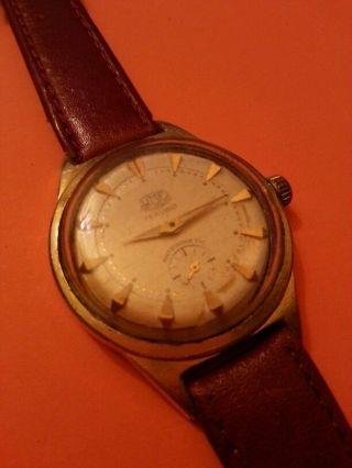 Alte Umf Ruhla Handaufzug Uhr / 15 Rubis Bild
