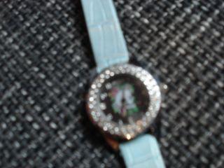 Ed Hardy Wunderschöne Damen - /edelstahl Uhr Mit Lederband Neuwertig Bild