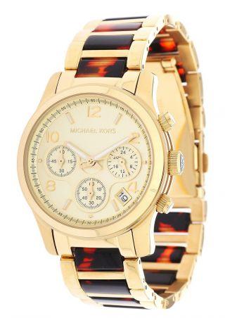 Michael Kors Damen Armbanduhr Gold Mk5659 Bild