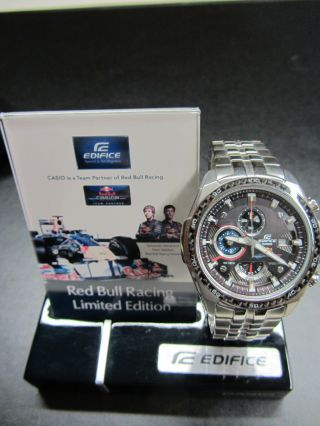 Casio Armbanduhr Red Bull Racing Limited Edition Bild