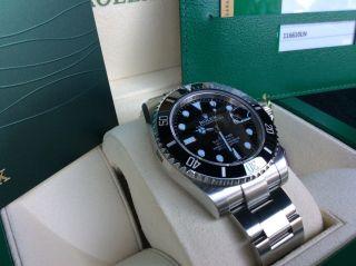 Rolex Submariner Stahl Ref.  116610 Ln / Verklebt / Aus 12/2014 Bild