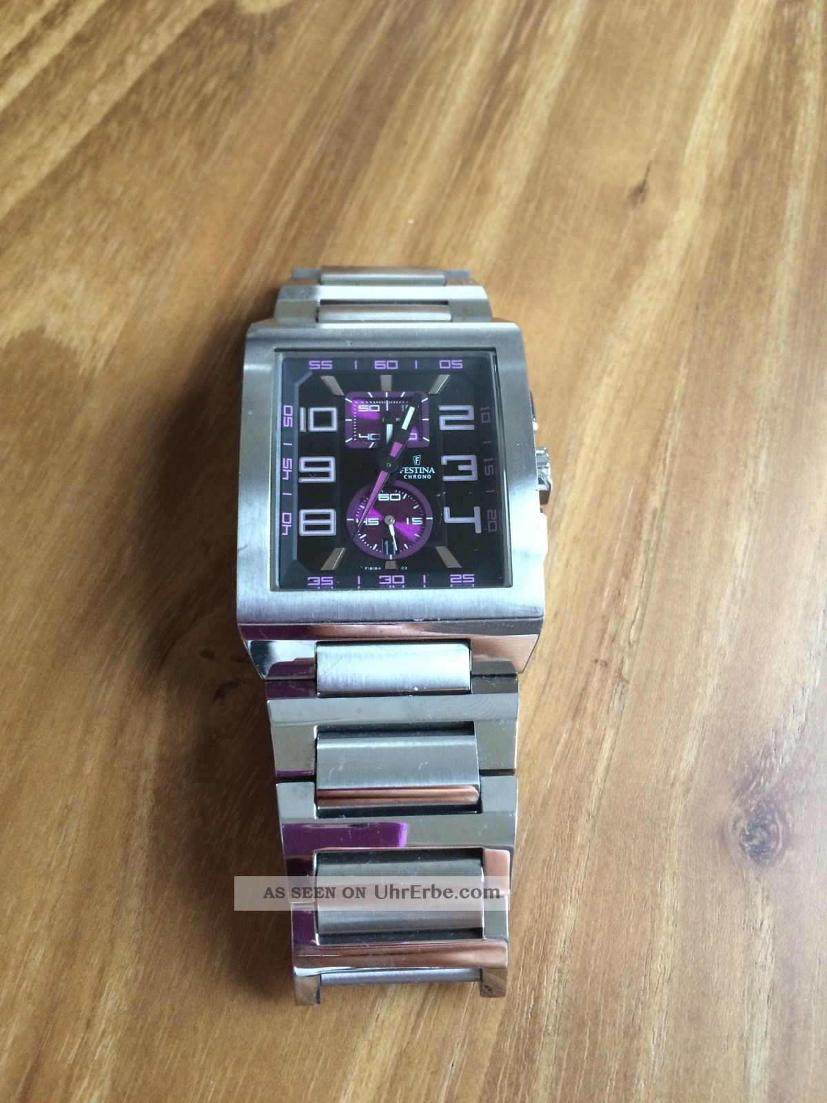 Festina F16190 Trend No 9 Herren Armband Uhr Chronograph