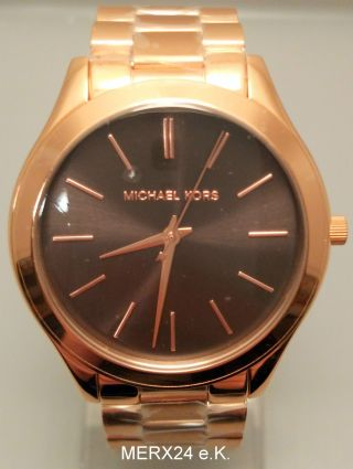 Michael Kors Mk3181 Damenuhr Rose Gold Damen Uhr Bild