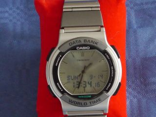 Casio Data Bank Bild