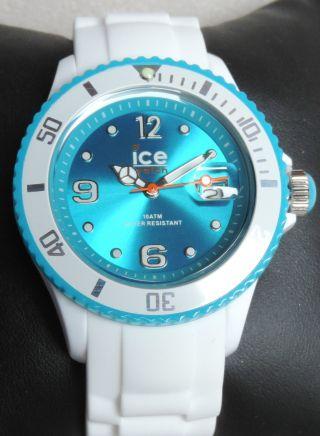 Ice Watch,  Sili White Turquoise Unisex,  100,  Si.  Wt.  U.  S.  11 Bild