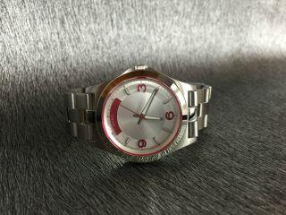 Marc By Marc Jacobs Mbm3161 Damenarmbanduhr / Watch / Uhr Luxus Silber Bild