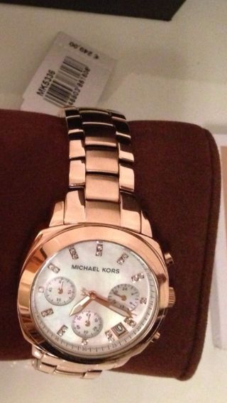 Michael Kors Damenuhr Uhr Rosegold Mk 5336 Bild