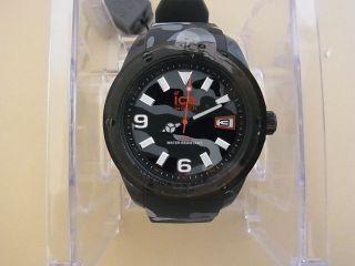 Ice Watch Ice - Army Armbanduhr Für Herren (ia.  Bk.  Xl.  R.  11) Und Etikett Bild