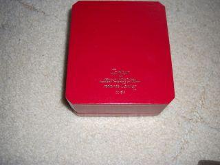 Cartier Geschenkbox Uhren Box Bild