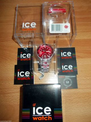 Ice Watch Pure Big Red Armbanduhr Bild