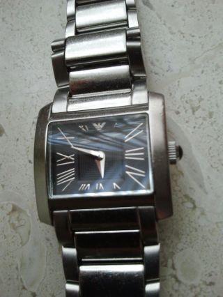 Armani Damenuhr Designeruhr Edelstahl Uhr Für Damen Bild