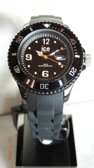 Ice Watch,  Sili Black Small,  100,  Schwarz,  Si.  Bk.  S.  S.  09 Bild