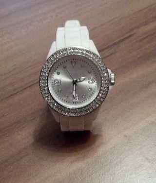 S.  Oliver Uhr Damenuhr Weiß Bild