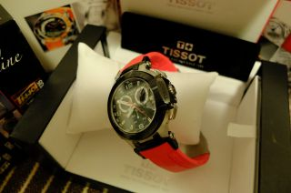 Tissot T - Race Red T0484172705701 Komplett In Ovp. Bild