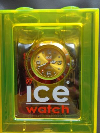 Ice - Watch Uhr Jy.  Yt.  U.  U.  10 Ice - Jelly Yellow Unisex Gelb Wie Bild