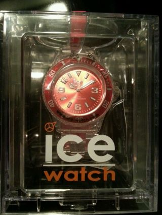 Ice - Watch Ice - Pure Red Armbanduhr Für Unisex (pu.  Rd.  U.  P.  12) Bild