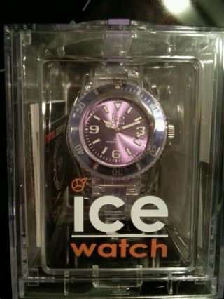 Ice - Watch Ice - Pure Purple Armbanduhr Für Unisex (pu.  Pe.  U.  P.  12) Bild