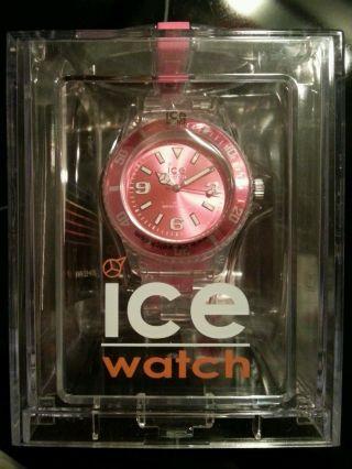 Ice - Watch Ice - Pure Pink Armbanduhr Für Unisex (pu.  Pk.  U.  P.  12) Bild