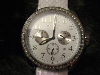 Esprit Damen - Uhr Chronograph Confidence White - Bild