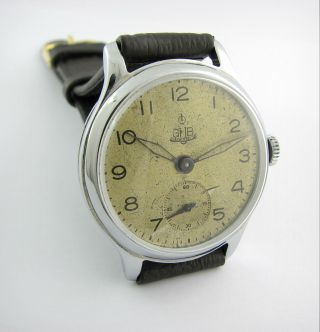 Extremly Rare.  Gub Glashutte Cal.  28.  A.  Lange&sohne.  Chatoned.  Check It Bild