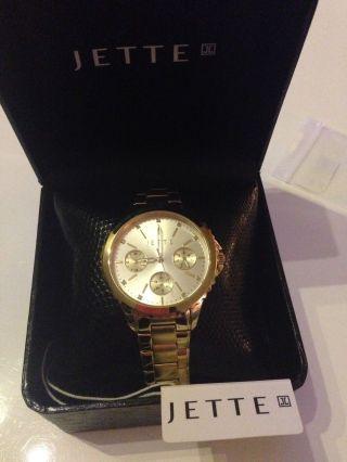 Jette,  Time Prime Time I,  Damenuhr,  Vergoldet,  Jette Joop Bild