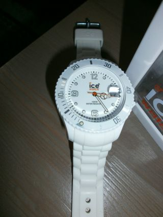 Ice Watch Weiss Si.  We.  Bb:s.  11 Sili Forever - White - Big Big Bild