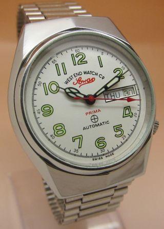 West End Watch Sowar Prima Mechanische Automatik Uhr Datum & Taganzeige Bild
